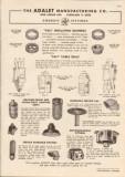 Adalet Mfg Company 1948 Vintage Catalog Electric Sali Bushings Seals