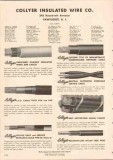 Collyer Insulated Wire Company 1949 Vintage Catalog Cables Cambric