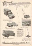 American Coach Body Company 1949 Vintage Catalog Truck Utility Line