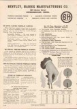 Bentley Harris Mfg Company 1949 Vintage Catalog Fiberglass Tubing