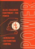 Allis-Chalmers 1949 Vintage Catalog Power Equipment Generate Control