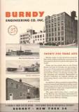 Burndy Engineering Company 1949 Vintage Catalog Connectors Industrial
