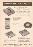 Clifton Mfg Company 1951 Vintage Catalog Stixwell Friction Rubber Tape
