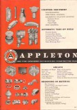 Appleton Electric Company 1951 Vintage Catalog Unilet Conduit Fittings