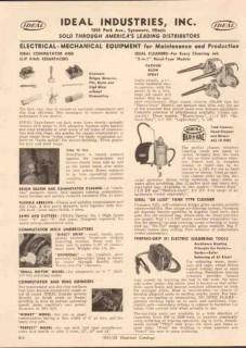 Ideal Industries Inc 1952 Vintage Catalog Electrical Maintenance