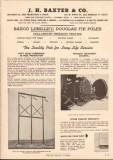 J H Baxter Company 1952 Vintage Catalog Poles Long-Life Douglas Fir
