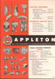 Appleton Electric Company 1952 Vintage Catalog Lighting Equipment