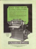 chandler price company 1926 holiday greeting printing vintage ad