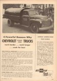 chevrolet 1953 amoco chas r brown elkton md delivery truck vintage ad