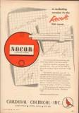 Cardinal Chemical Inc 1953 Vintage Ad Corrosion Nocor Result Combat