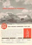 Chicago Bridge Iron Company 1953 Vintage Ad Oil Field Welding Pressure