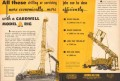 Cardwell Mfg Company 1953 Vintage Ad Oil Rig Drilling Servicing Jobs