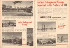 Anchor Petroleum Company 1953 Vintage Ad LPG Gas Underground Storage