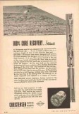 Christensen Diamond Products Company 1953 Vintage Ad Oil Core Recovery