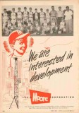 Lee C Moore Corp 1953 Vintage Ad Oil Field Rig Little League Baseball