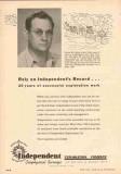 Independent Exploration Company 1953 Vintage Ad Oil Lloyd M Urban