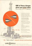 Lane-Wells Company 1953 Vintage Ad Oil Field Koneshot One Extra Value