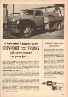 chevrolet 1953 j marcus wood longview tx gulf oil truck vintage ad