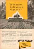 caterpillar tractor company 1953 d7 reynolds hutt tyler tx vintage ad