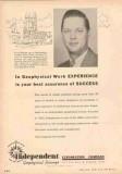 Independent Exploration Company 1953 Vintage Ad Oil Floyd Kisler