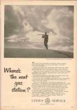 Cities Service 1953 Vintage Ad Oil Field Maurice Kennedy Geologist Gas