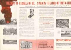 Tretolite Company 1955 Vintage Ad Cut Oil Petrolite William Barnickel