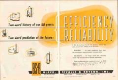 Black Sivalls Bryson Inc 1951 Vintage Ad Oil Efficiency Reliability