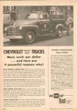 chevrolet 1953 elkton gas company advanced design truck vintage ad