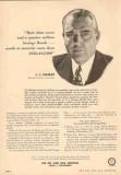 chrysler corp 1954 l l colbert president payroll savings vintage ad
