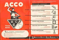 American Chain Cable Company 1951 Vintage Ad Oil Consider Advantages