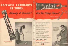 Rockwell Mfg Company 1953 Vintage Ad Lubricants Tubes Nordstrom Valves