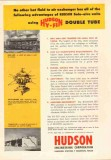 Hudson Engineering Corp 1953 Vintage Ad Hy-Fin Double Tube Exchanger