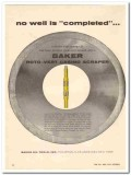 Baker Oil Tools Inc 1959 Vintage Ad No Well Completed Casing Scrapper