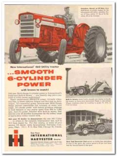 international harvester 1959 smooth 6cylinder power tractor vintage ad