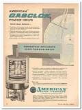 American Meter Company 1959 Vintage Ad Gasclok Power Drive Metering