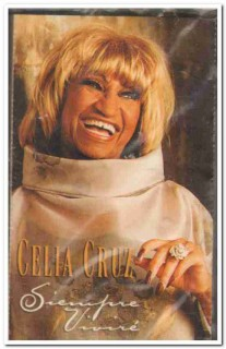 celia cruz - siempre vivire 2000 sealed cassette tape