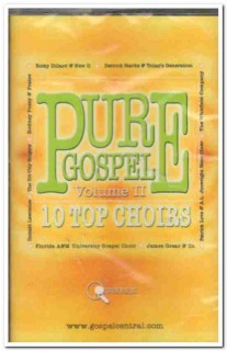 pure gospel - 10 top choirs vol ii christian sealed cassette tape