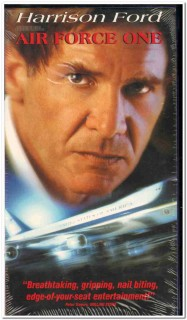 air force one -  harrison ford movie sealed vhs video tape