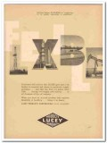 Lucey Products Corp 1959 Vintage Ad Oil Field Flexible Unusual Problem