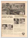 british petroleum company 1959 candid canada speaks mind vintage ad