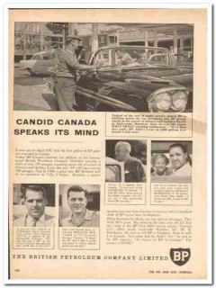 british petroleum company 1959 candid canada speaks mind vintage ad