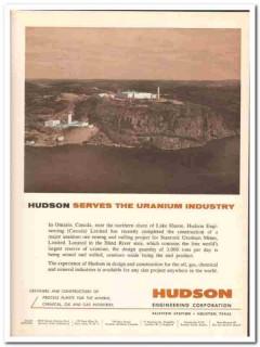 hudson engineering corp 1959 stanrock uranium mines vintage ad