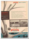 Houston Oil Field Material Company 1959 Vintage Ad Homco Supply Stores