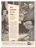Hill Hubbell Company 1959 Vintage Ad Oil Pipe Line Wrapping Protection