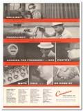 Cameron Iron Works 1959 Vintage Ad Drilling Producing Pressure Profits