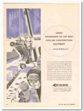 M J Crose Mfg Company 1959 Vintage Ad Pipeline Equipment Recognized