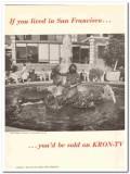 kron-tv 1973 ruth asawa andrea ghirardelli square tv media vintage ad