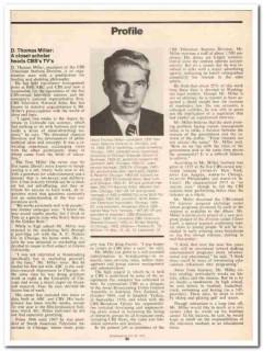 profile 1973 david thomas miller cbs television media vintage article