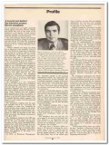 profile 1973 marvin josephson associates television vintage article