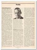 profile 1973 charles steinberg ampex corp audio video vintage article